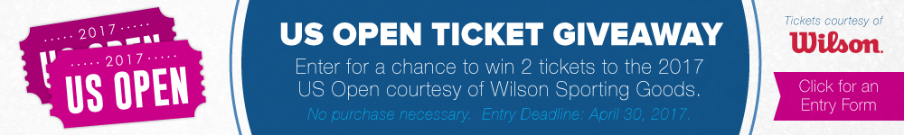 US Open Ticket Giveaway